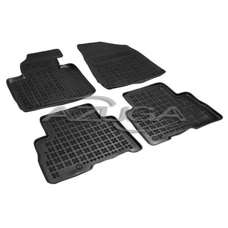 Hohe Gummi-Fußmatten für Kia Sorento ab 10/2012-2014 (Facelift) 4-tlg.
