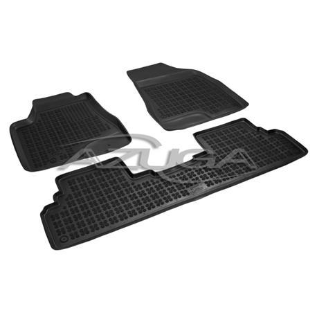 Hohe Gummi-Fußmatten für Lexus RX ab 4/2009 3-tlg.