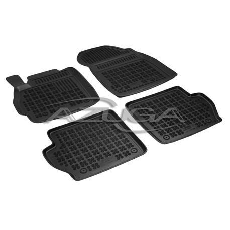 Hohe Gummi-Fußmatten für Mazda 2 ab 10/2007-2014 4-tlg.