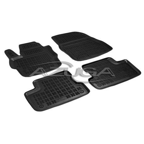 Hohe Gummi-Fußmatten für Mazda 3 ab 5/2009-9/2013 4-tlg.