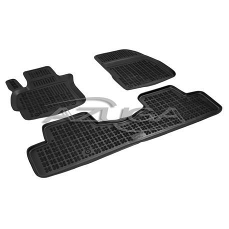 Hohe Gummi-Fußmatten für Mazda 5 ab 2005 3-tlg.