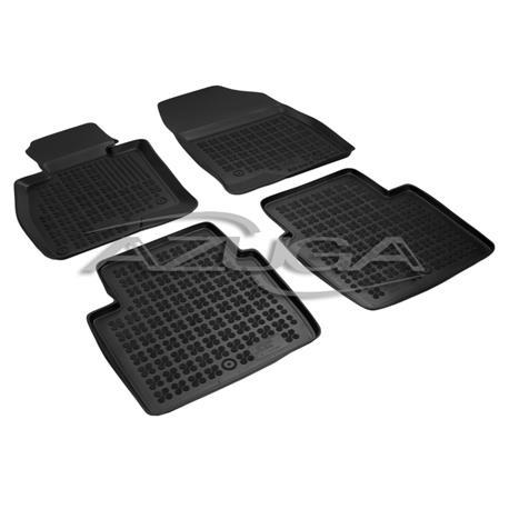 Hohe Gummi-Fußmatten für Mazda 6 Limousine ab 2/2013 4-tlg.