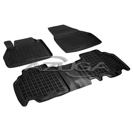 Hohe Gummi-Fußmatten für Mercedes Citan ab 2012 3-tlg.