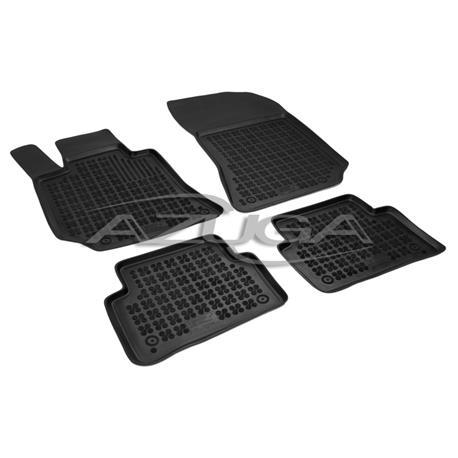 Hohe Gummi-Fußmatten für Mercedes CLS (C218/X218) ab 2011 4-tlg.