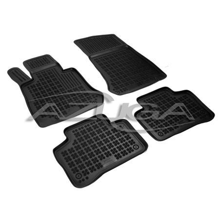 Hohe Gummi-Fußmatten für Mercedes GLC (X253) ab 2015 4-tlg.