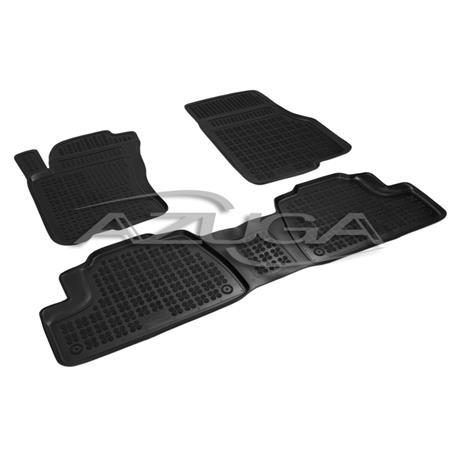 Hohe Gummi-Fußmatten für Mercedes M-Klasse ML ab 1997 (Typ W163) 3-tlg.