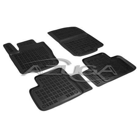 Hohe Gummi-Fußmatten für Mercedes M-Klasse ML ab 11/2011 (W166)/GLE/GLE Coupé ab 2015 4-tlg.