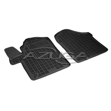 Hohe Gummi-Fußmatten für Mercedes Vito/V-Klasse ab 2014 (W447) 2-tlg.