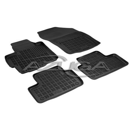 Hohe Gummi-Fußmatten für Citroen C4 Aircross ab 2012/Mitsubishi ASX ab 2010 4-tlg.