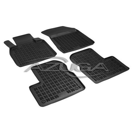 Hohe Gummi-Fußmatten für Nissan Micra (K13) ab 2011 4-tlg.
