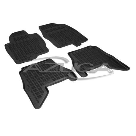 Hohe Gummi-Fußmatten für Nissan Pathfinder ab 4/2005 4-tlg.
