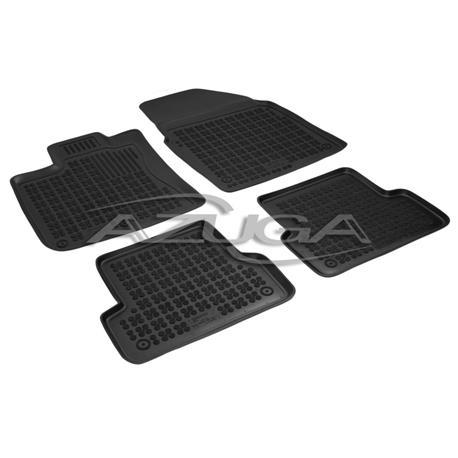 Hohe Gummi-Fußmatten für Nissan Qashqai ab 2007-1/2014 4-tlg.