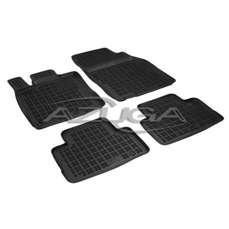 Hohe Gummi-Fußmatten für Nissan Qashqai ab 2/2014 4-tlg.