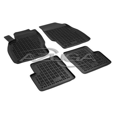 Hohe Gummi-Fußmatten für Opel Corsa D ab 10/2006/Corsa E ab 12/2014