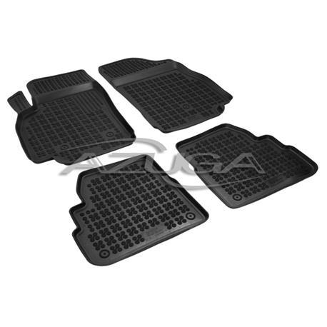 Hohe Gummi-Fußmatten für Opel Karl ab 2015 4-tlg.