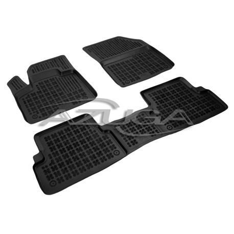 Hohe Gummi-Fußmatten für Peugeot 3008 ab 2016