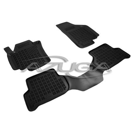 Hohe Gummi-Fußmatten für Seat Altea XL ab 2006 3-tlg.
