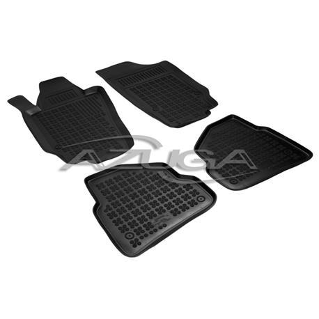 Hohe Gummi-Fußmatten für Seat Ibiza ab 6/2008 (6J)/Ibiza ST ab 2010 4-tlg.