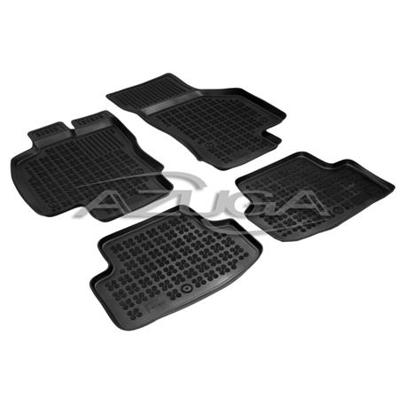 Hohe Gummi-Fußmatten für Seat Leon ab 12/2012 / Leon ST ab 2013 (5F) 4-tlg.