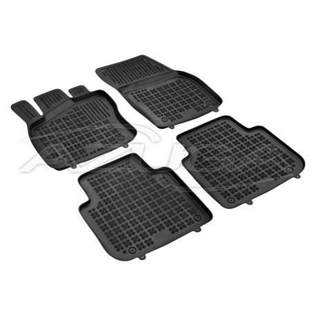 Hohe Gummi-Fußmatten für Skoda Kodiaq/VW Tiguan Allspace ab 2017/Seat Tarraco ab 2019