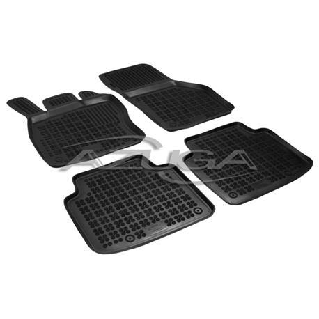 Hohe Gummi-Fußmatten für Skoda Superb III ab 2015 4-tlg.