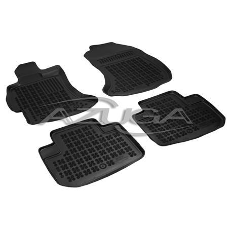 Hohe Gummi-Fußmatten für Subaru Forester ab 3/2013 4-tlg.