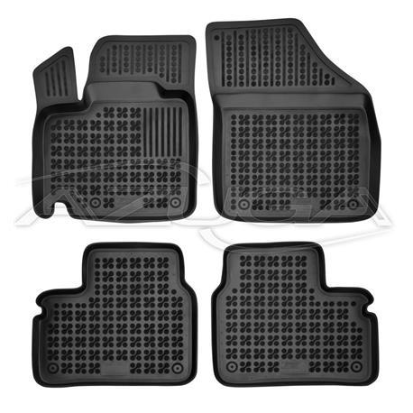 Hohe Gummi-Fußmatten für Suzuki Ignis ab 2017 4-tlg.