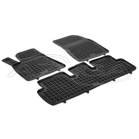 Hohe Gummi-Fußmatten für Tesla Model 3 ab 2019
