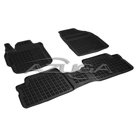Hohe Gummi-Fußmatten für Toyota Auris ab 2007 3-tlg.