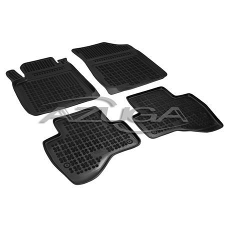 Hohe Gummi-Fußmatten für Toyota Aygo ab 7/2014 4-tlg.