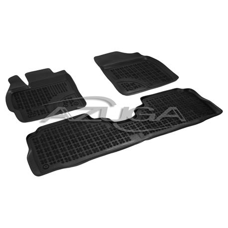 Hohe Gummi-Fußmatten für Toyota Prius Plus + ab 2012 4-tlg.