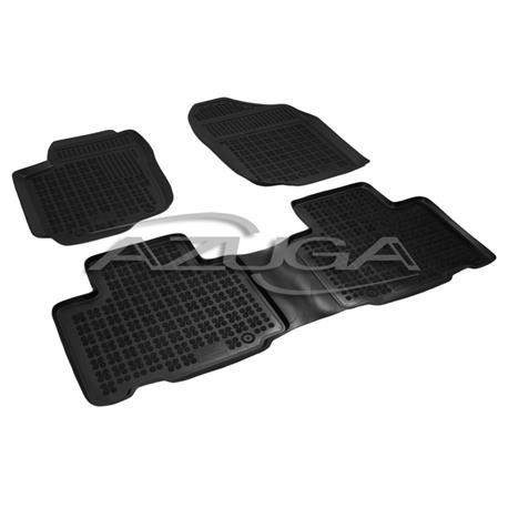 Hohe Gummi-Fußmatten für Toyota RAV4 ab 4/2013 3-tlg.
