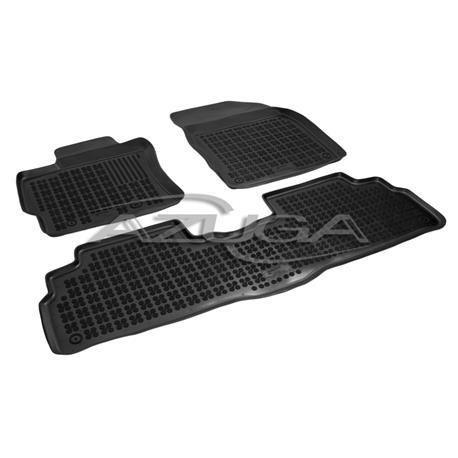 Hohe Gummi-Fußmatten für Toyota Verso ab 4/2009-heute 3-tlg.