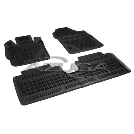 Hohe Gummi-Fußmatten für Toyota Yaris ab 9/2011 3-tlg.