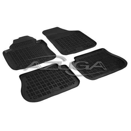Hohe Gummi-Fußmatten für VW Caddy Life/Caddy Life Maxi ab 2004 4-tlg.