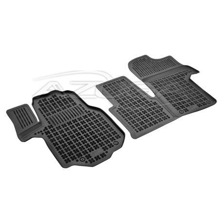 Hohe Gummi-Fußmatten für VW Crafter II ab 3/2017 2-tlg.