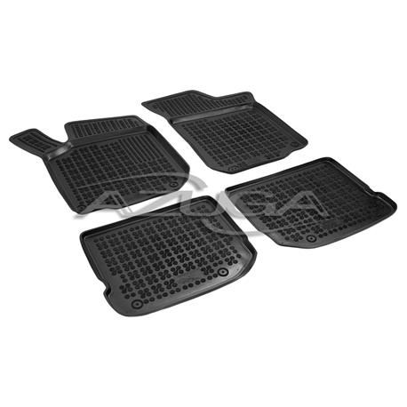 Hohe Gummi-Fußmatten für VW Golf 4/Bora/Beetle 1/Seat Leon 1