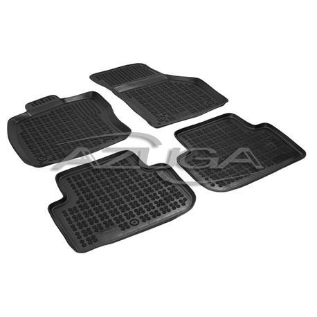 Hohe Gummi-Fußmatten für VW Golf Sportsvan ab 2014 4-tlg.