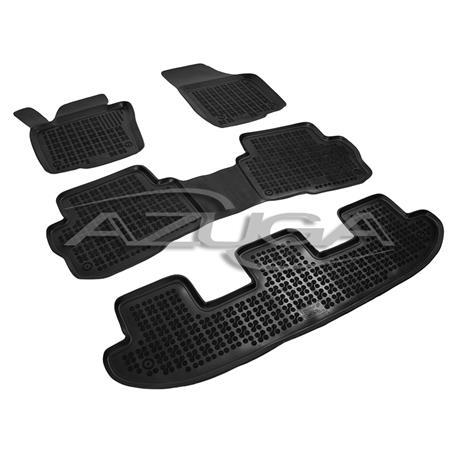 Hohe Gummi-Fußmatten für Seat Alhambra/VW Sharan ab 9/2010