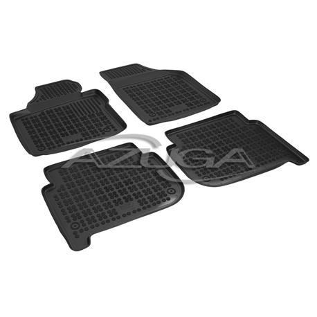 Hohe Gummi-Fußmatten für VW Touran/Cross Touran ab 2003-8/2015