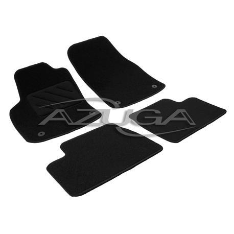 Textil-Fußmatten für Opel Astra H ab 3/2004 + Astra H Caravan (runde Befestigung)