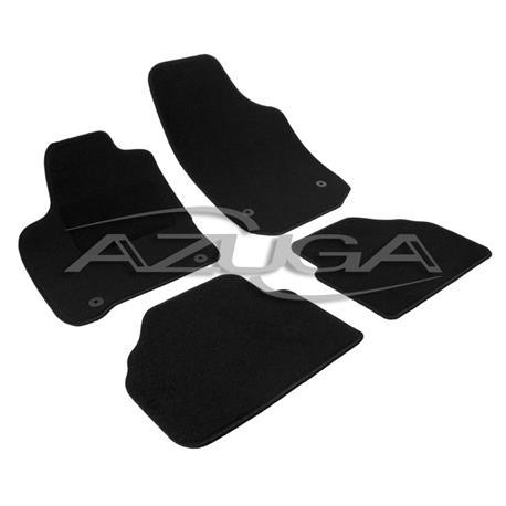 Textil-Fußmatten für Opel Meriva A 2003-4/2010 (runde Befestigung)