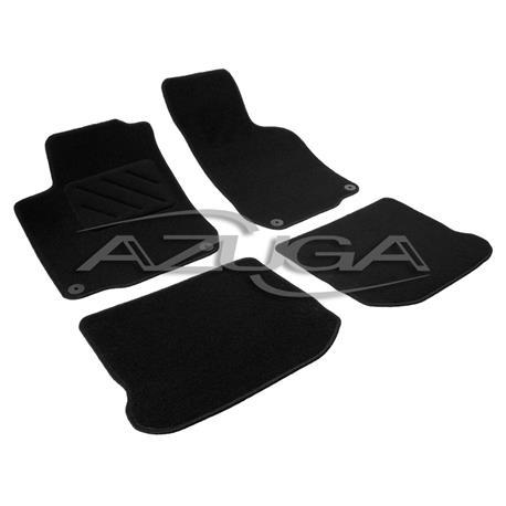 Textil-Fußmatten für VW Golf 4/Golf 4 Variant (runde Befestigung)