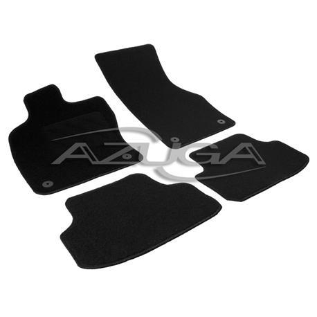 Textil-Fußmatten für VW Golf 7 ab 2012 (runde Clips)