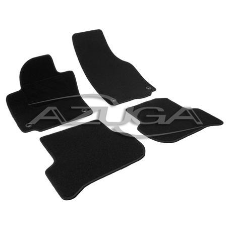Textil-Fußmatten für VW Golf Plus (ovale Befestigung)