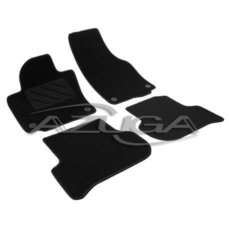 Textil-Fußmatten für VW Golf Plus (runde Befestigung)