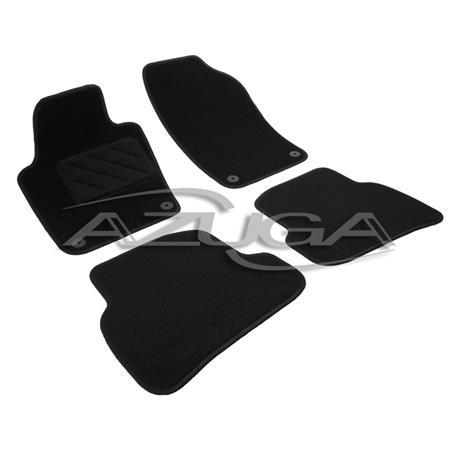 Textil-Fußmatten für VW Polo ab 6/2009-9/2017 (6R)
