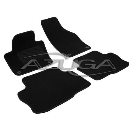 Textil-Fußmatten für VW Sharan/Seat Alhambra ab 9/2010 (runde Befestigung)