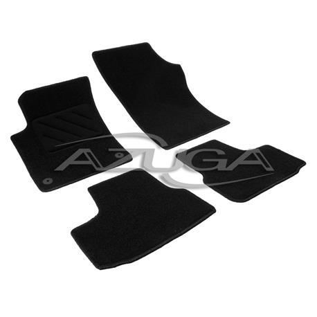 Textil-Fußmatten für Seat Mii/Skoda Citigo/VW Up ab 2012 (runde Befestigung)