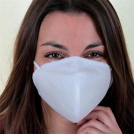 Behelfsmaske Gesichtsmaske Mund-Nasen-Maske 3-lagig mit Filtereinlage